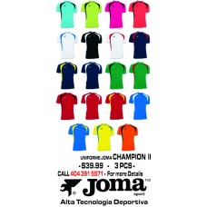 CHAMPION JOMA - 19 COLORS AVAILABLE